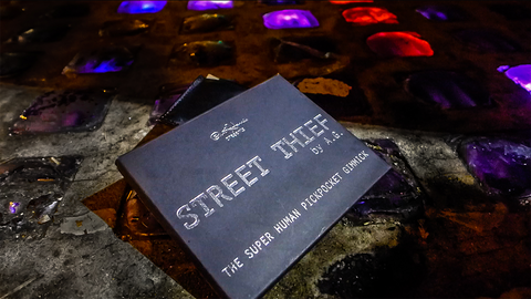 Paul Harris Presents Street Thief (British Pound - BLUE) by & Paul Harris - Trick