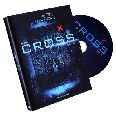 "Cross (DVD & Gimmicks) ""Bonus Pack"" by Tjiu  - Trick"
