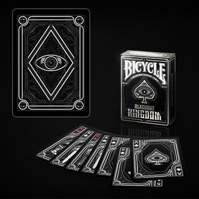 Bicycle Blackout Kingdom  Deck by Gambler's Warehouse - Trick