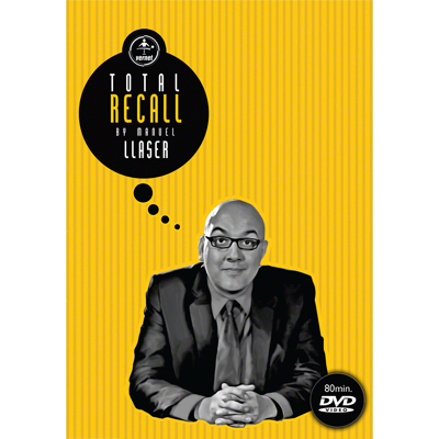 Total Recall by Manuel Llaser & Vernet Magic - DVD
