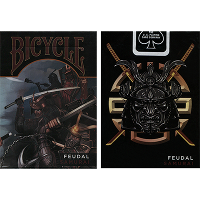Bicycle Feudal Samurai Deck by Crooked Kings - Trick