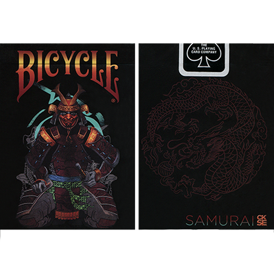 Bicycle Feudal Samurai Deck (Limited Edition with Numbered Sleeve) by Crooked Kings