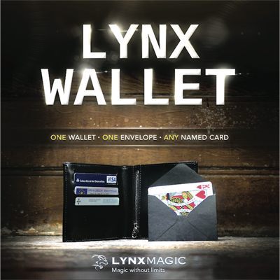 Lynx Wallet by Gee Magic - Trick