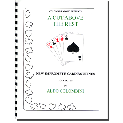 A Cut Above The Rest (Spiral Bound) by Aldo Colombini - Book
