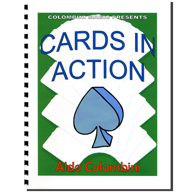 Cards In Action (Spiral Bound) by Aldo Colombini - Book