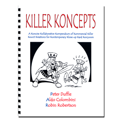 Killer Koncepts (Spiral Bound) by Aldo Colombini - Book