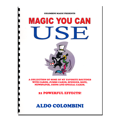 Magic You Can Use (Spiral Bound) by Aldo Colombini - Book