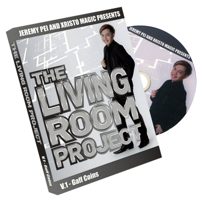 The Living Room Project Vol 1 (Gaff Coins) by Jeremy Pei and Xristo Magic - DVD