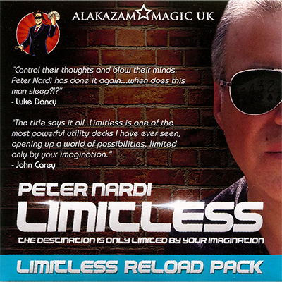 Expansion Pack (Queen Of Hearts) for Limitless by Peter Nardi - DVD