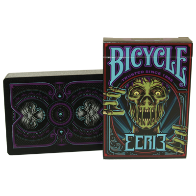 Bicycle Eerie Deck (Purple) by Gambler's Warehouse - Trick