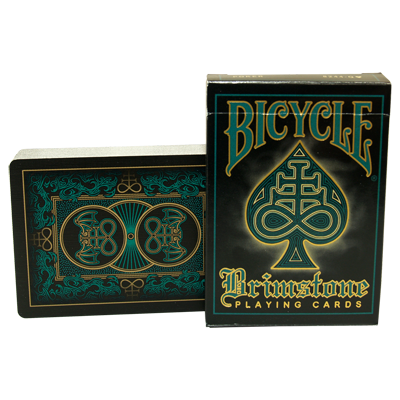 Bicycle Brimstone Deck (Aqua) by Gambler's Warehouse - Trick