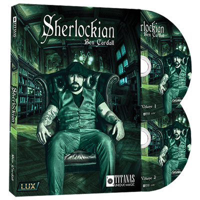 Sherlockian (2 DVD Set) by Ben Cardall and Titanas Magic - DVD