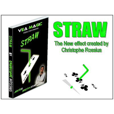 STRAW (DVD & Gimmicks) by Christoph Rossius - Trick