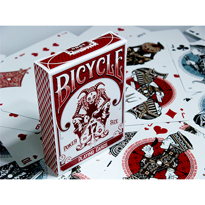 Bicycle No 17 by Stockholm 17 Playing Cards - Trick