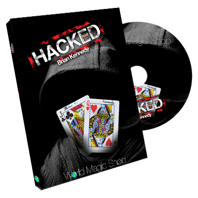 Hacked (DVD and Gimmick) by Brian Kennedy - DVD