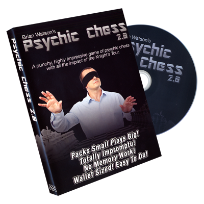 Psychic Chess 2.0 (DVD & Gimmicks) by Brian Watson - Trick