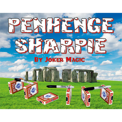 Penhenge Sharpie by Joker Magic - Trick