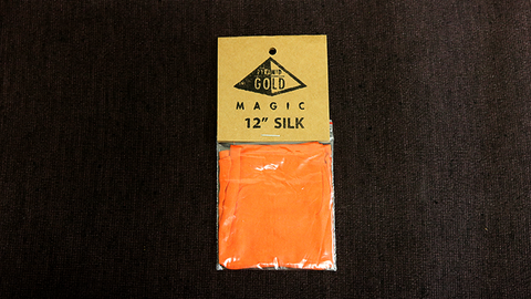 "Silk 12"" (Orange) by Pyramid Gold Magic"