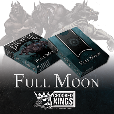 Bicycle Werewolf Full Moon Playing Cards (Standard Edition) - Trick