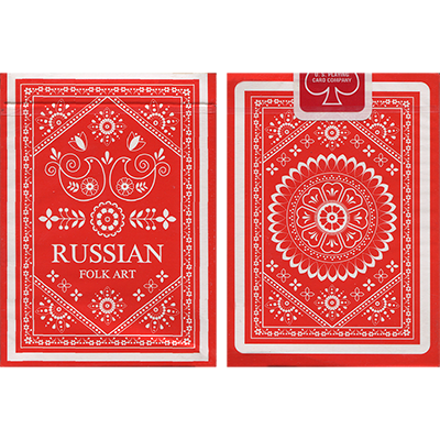 Russian Folk Art Deck by Natalia Silva - Trick