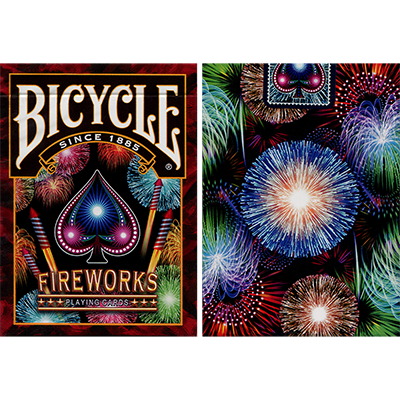 Bicycle Fireworks Playing Cards by Collectable Playing Cards - Trick