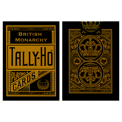 Tally-Ho British Monarchy Playing Cards by LUX Playing Cards - Trick