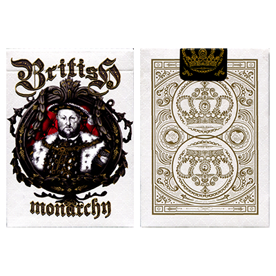 King Henry VIII (Limited Edition) British Monarchy Playing Cards by LUX Playing Cards - Trick