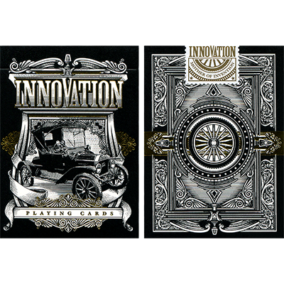 Innovation Playing Cards Black Edition by Jody Eklund - Trick