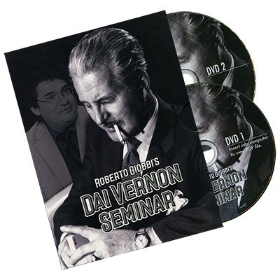 The Vernon Seminar (2 DVD Set) by Roberto Giobbi - DVD