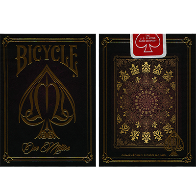 Bicycle One Million Deck (Red) by Elite Playing Cards
