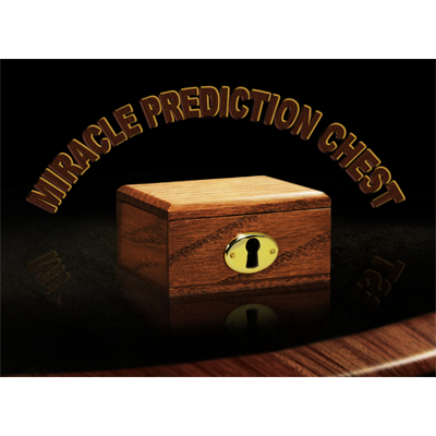 Miracle Prediction Chest (Left Hand) by Hand Crafted Miracles - (Created by Dannicus and Mark Southworth) - Trick