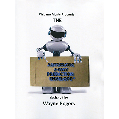Automatic 2-Way Envelope by Wayne Rogers - Book