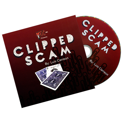 Clipped Scam (DVD and Gimmick) by Luis Carreon - DVD