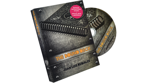 The Bound Deck DVD and Gimmick (Red) by Juan Luis Rubiales and Luis de Matos - DVD