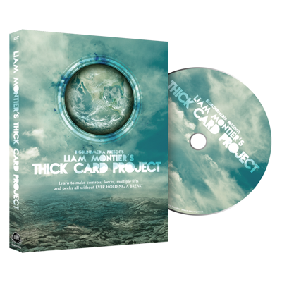 The Thick Card Project (plus Bonus) by Liam Montier and Big Blind Media - DVD