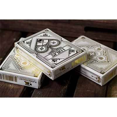 Spirit White Playing Cards by Gamblers Warehouse