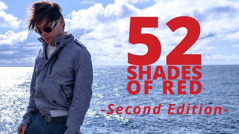52 Shades of Red (Gimmicks included) Version 2 by Shin Lim - Trick