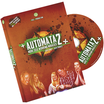 Automata 2 by Gary Jones and Dave Forrest - DVD