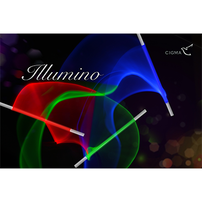 Illumino Wand (Blue) by Cigma Magic - Trick