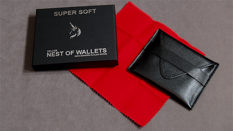 Super Soft Deluxe Nest of Wallets (AKA Nest of Wallets V2) by Nick Einhorn and Alan Wong- Trick