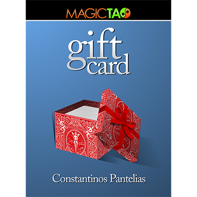 Gift Card Red (Gimmick and Online Instructions) by Constantinos Pantelias - Trick