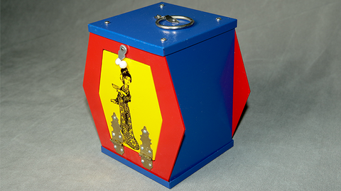 Clatter Box (Aluminum) by Mr. Magic - Trick
