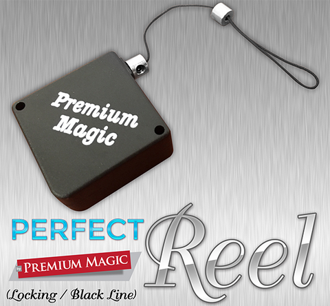 Perfect Reel (Locking / Black line) by Premium Magic - Trick