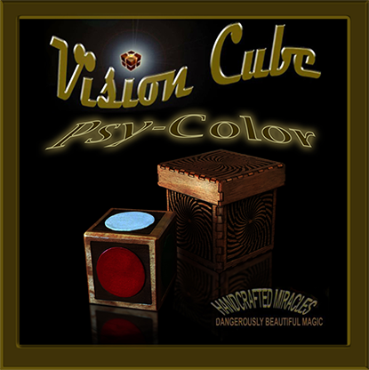 Vision Cube (Color Spots /Psycolor cube) by Hand Crafted Miracles - Trick