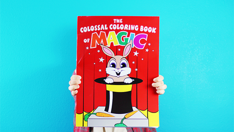 Colossal Magic Coloring Book by Danny Orleans - Trick