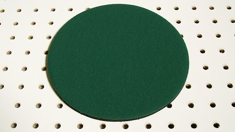 Round Spotlight Pad (Green) by Ronjo Magic