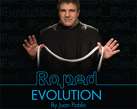 Roped Evolution (Gimmick, DVD and Prop) by Juan Pablo - Trick