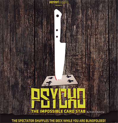 Psycho by by Iñaki Zabaletta and Vernet - DVD