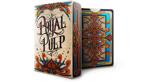 Royal Pulp Deck (Red) by Gamblers Warehouse