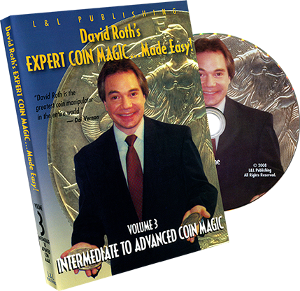 David Roth Intermediate-Advanced Coin Magic - DVD